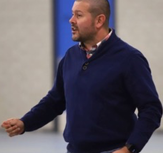 Just Riet coach c.k.v. Oranje Wit 2